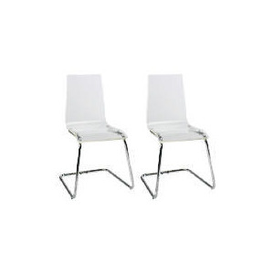 Photo of Pair Of Lotus Chairs, Clear Furniture