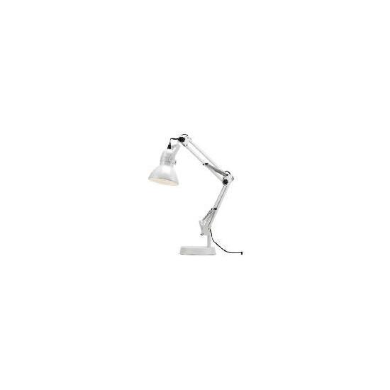Tesco Retro Desk Lamp White