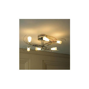 Photo of Tesco Contemporary Ceiling Fitting Lighting