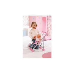 Photo of Baby Born Girl On The Go Stroller Toy