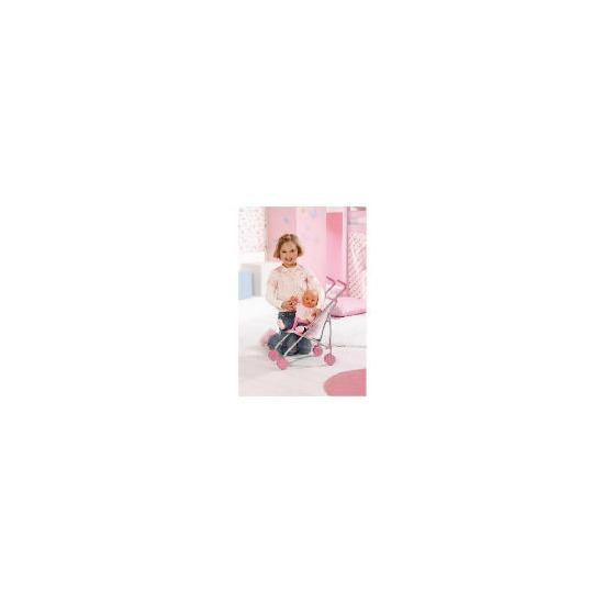 Baby Born Girl on the Go Stroller