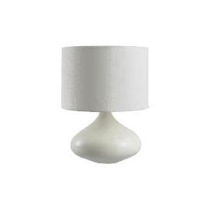 Photo of Tesco Ceramic Onion Lamp, Cream Lighting