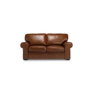Photo of York Leather Sofa, Cognac Furniture