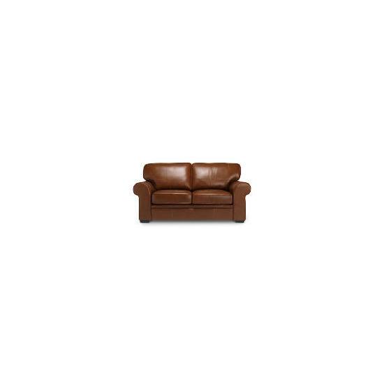 York Leather Sofa, Cognac
