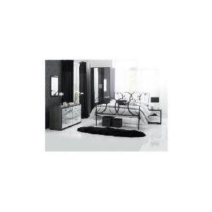Photo of Sophia 2 Door Wardrobe Large Room Set Mirrored Furniture