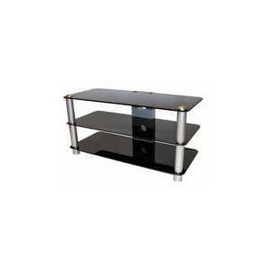 Photo of MDA DESIGNs Timber 37 Black TV Stands and Mount