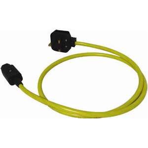 Photo of BLACK RHODIUM SUPER MAINS 25 MAINS CABLE IEE Adaptors and Cable