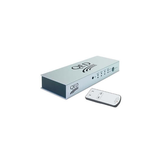 QED HDMI switching box