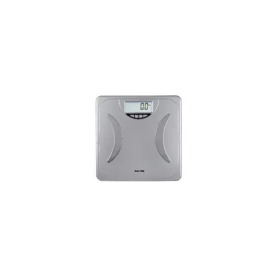 Salter Silver Body Analyser Bathroom Scale 9114