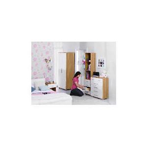 Photo of Paris 4+2 Drawer Chest, Cream Furniture