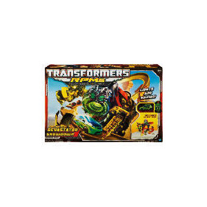 Photo of Transformers Movie 2 RPMs Constructicon Devastator Showdown Track Set Toy