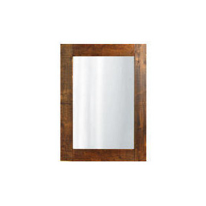Photo of Reclaimed Timber Mirror 106X85CM Home Miscellaneou