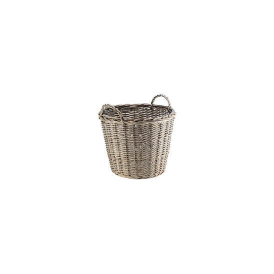 Rustic Chunky Willow Log Basket