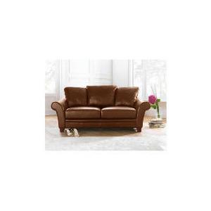 Photo of Carolina Large Leather Sofa, Cognac Furniture