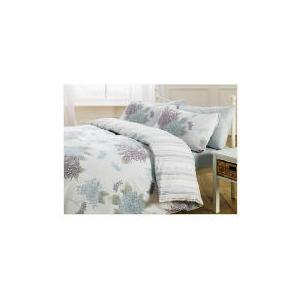 Photo of Tesco Chrysanthemum Print Duvet Set Double, Ivory Bed Linen