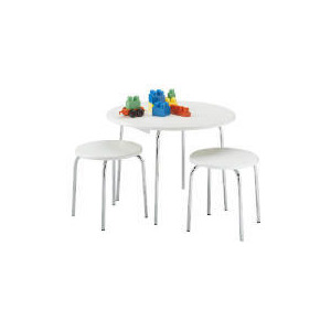 Photo of Doodle Table & 2 Stools, White Toy