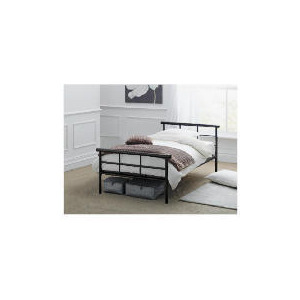 Photo of Durban Single Bed Frame, Black Finish Bedding