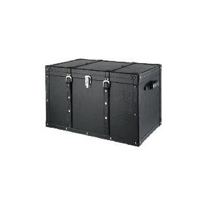 Photo of Large Black Trunk Household Storage