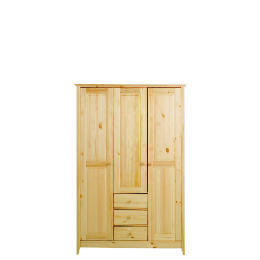 Fairhaven Triple Wardrobe, Natural Reviews