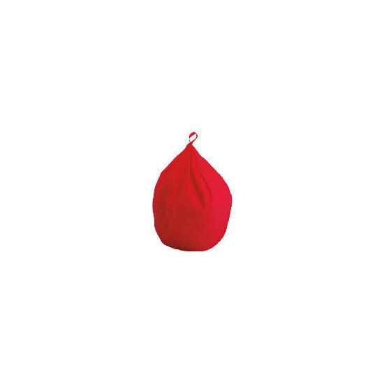 Bean Bag Cotton Drill, Red