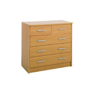 Photo of Compton 5 Drawer Chest Beech Furniture