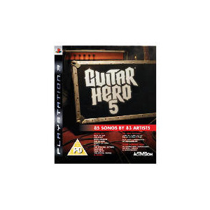Photo of Guitar Hero 5 - Game Only (PlayStation 3) Video Game