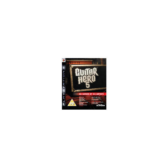 Guitar Hero 5 - Game Only (PlayStation 3)