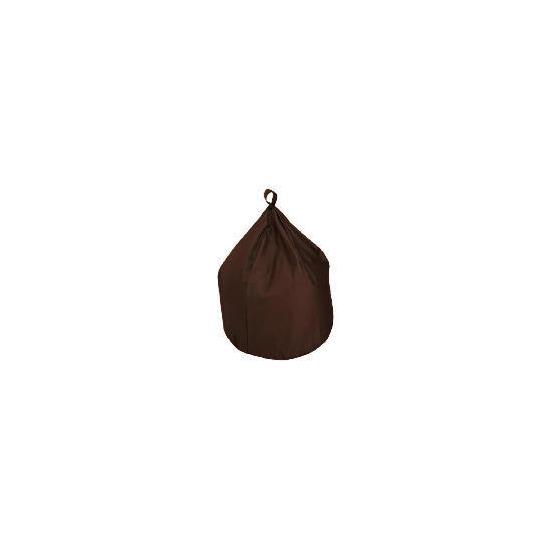 Bean Bag Cotton Drill, Chocolate