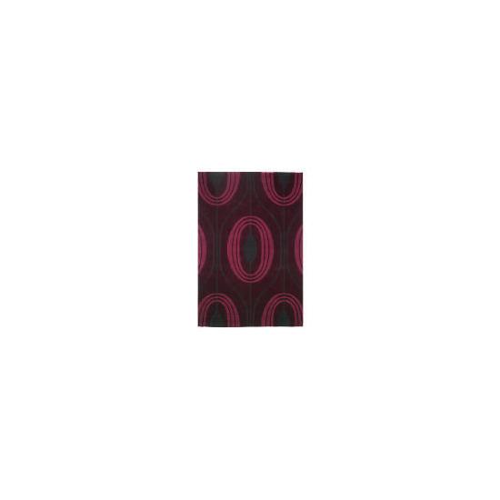 Tesco Global Teardrop Design Rug Purple 120x170cm