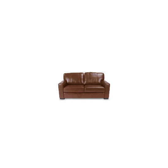 Ohio Large Leather Sofa, Cognac