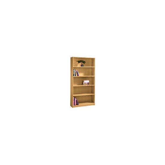5 shelf 80cm Bookcase, Oak effect