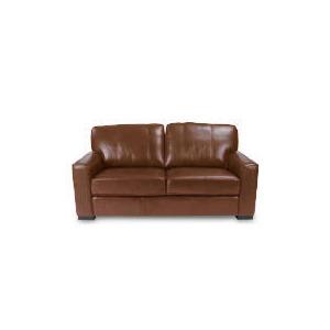 Photo of Ohio Leather Sofa, Cognac Furniture