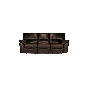 Photo of Madrid Large Leather Recliner Sofa, Brown Furniture