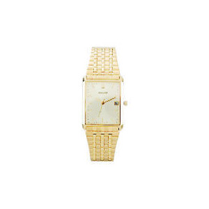 Photo of ACCURIST MENS GOLD RECTANGULAR WATCH Jewellery Woman