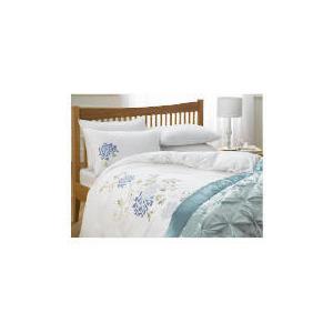 Photo of Tesco Winter Romance Embroidered Duvet Set King, White Bed Linen