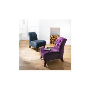 Photo of Rosa Occasional Chair, Velvet Plum Furniture