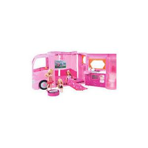 Photo of Barbie Pink Camper Van Toy
