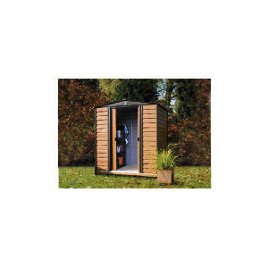 Photo of 8X6 Woodvale Wood & Metal Shed Shed