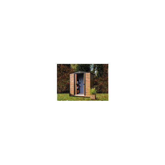 8x6 Woodvale Wood & Metal Shed