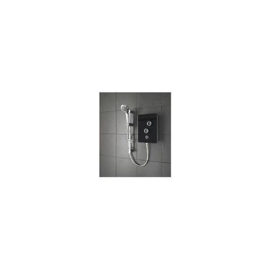 Triton Glass Electric Shower Black