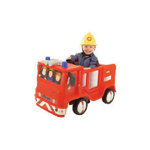 Photo of Fireman Sam Jupiter Ride In With Sound Helmet Toy