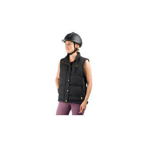 Photo of Tesco Ladies 2 In 1 Riding Jacket and Gilet Size 12 Black Sports and Health Equipment
