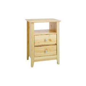 Photo of Fairhaven 2 Drawer Bedside Table, Natural Furniture