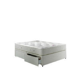 Wembury 2 Drawer Double Divan Set With Deep Ortho Cushion Top Mattress Reviews