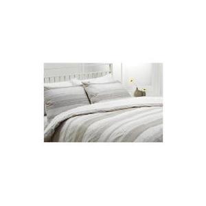 Photo of Tesco Manhattan Print Duvet Set Kingsize, Natural Bed Linen