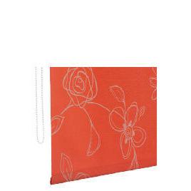 Designed Roller Blind 120cm Clematis Red Reviews