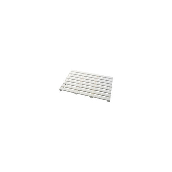 Southwold White Wood Tongue & Groove Duckboard