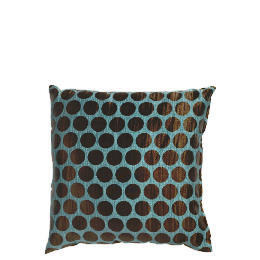 Tesco Jacquard Spot Cushion Teal Reviews