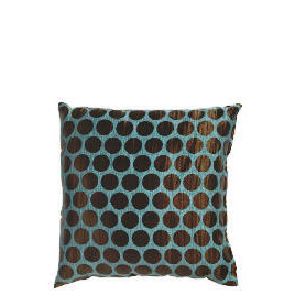 Tesco Jacquard Spot Cushion Teal Reviews