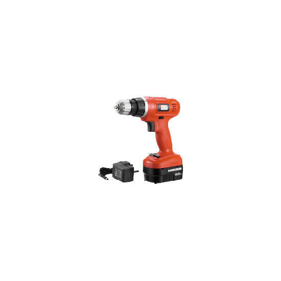 Black and Decker 9.6V Drill
